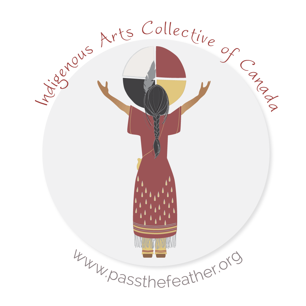 Indigenous Arts Collective of Canada, pass the feather, logo